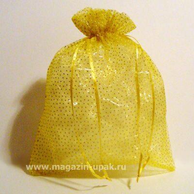 Мешок подарочный из органзы цвет