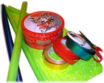 материалы для упаковки круглой коробки