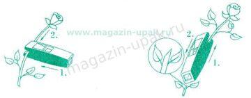 безопасный нож две функции  magazin-upak.ru  удаление шипов с роз и обрезать правильно стебель