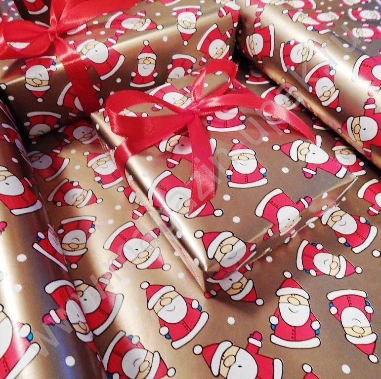 Нвогодняя упаковка Дед Мороз